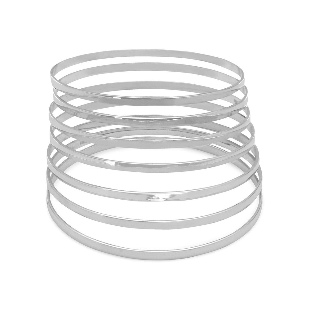 "Load image into Gallery viewer, 7 8"" Flat Bangles"