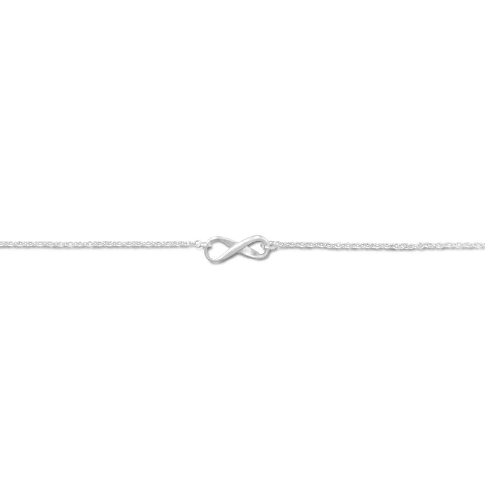 "9"" + 1"" Infinity Symbol Anklet"