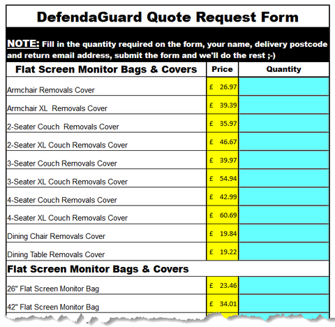 DefendaGuard Quote Form