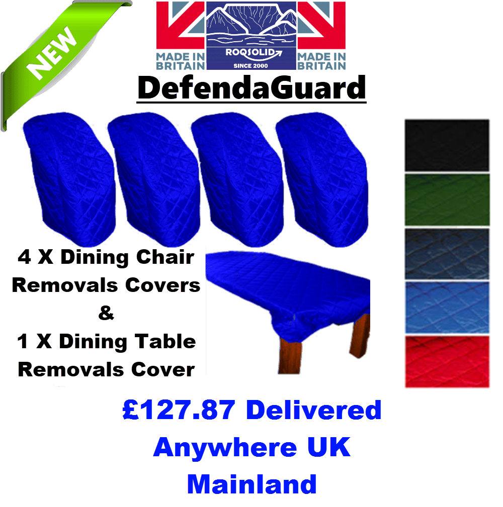 Dining Room Removals Kit 1 - DefendaGuard - ROQSOLID