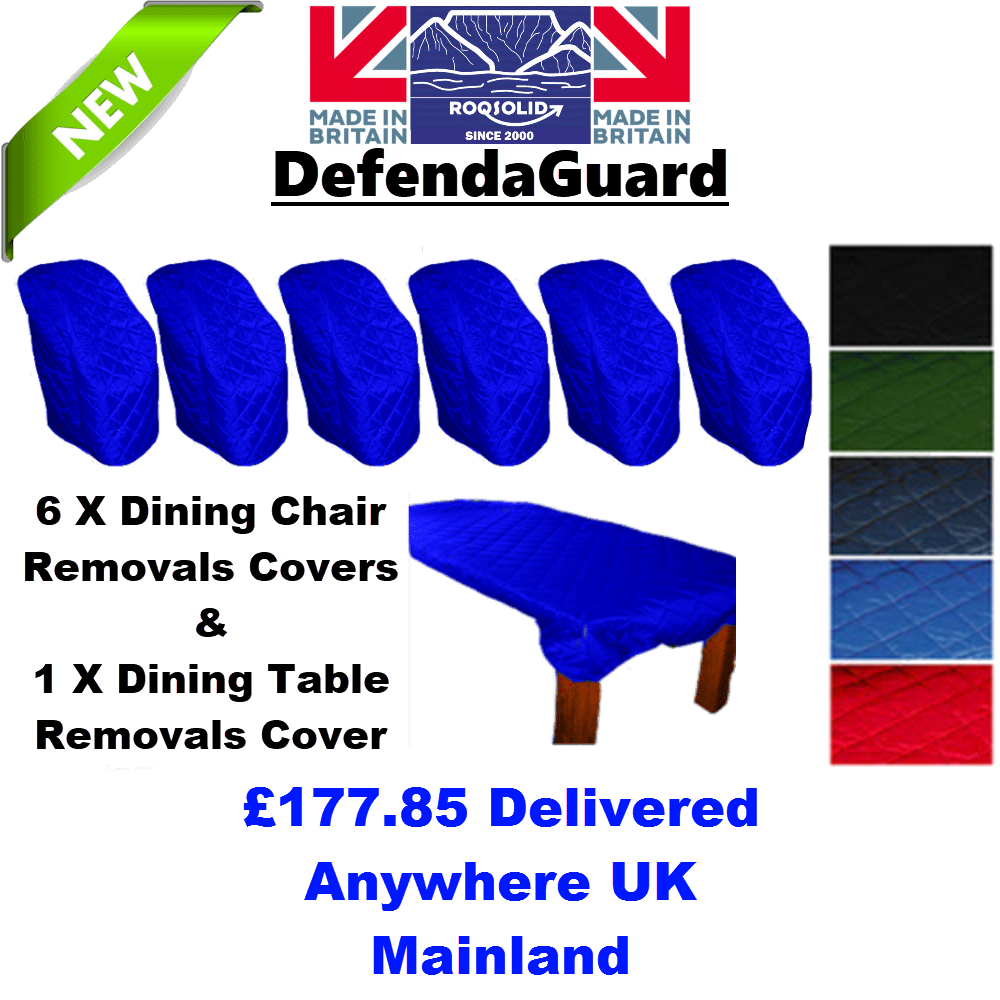 Dining Room Removals Kit 2 - DefendaGuard - ROQSOLID