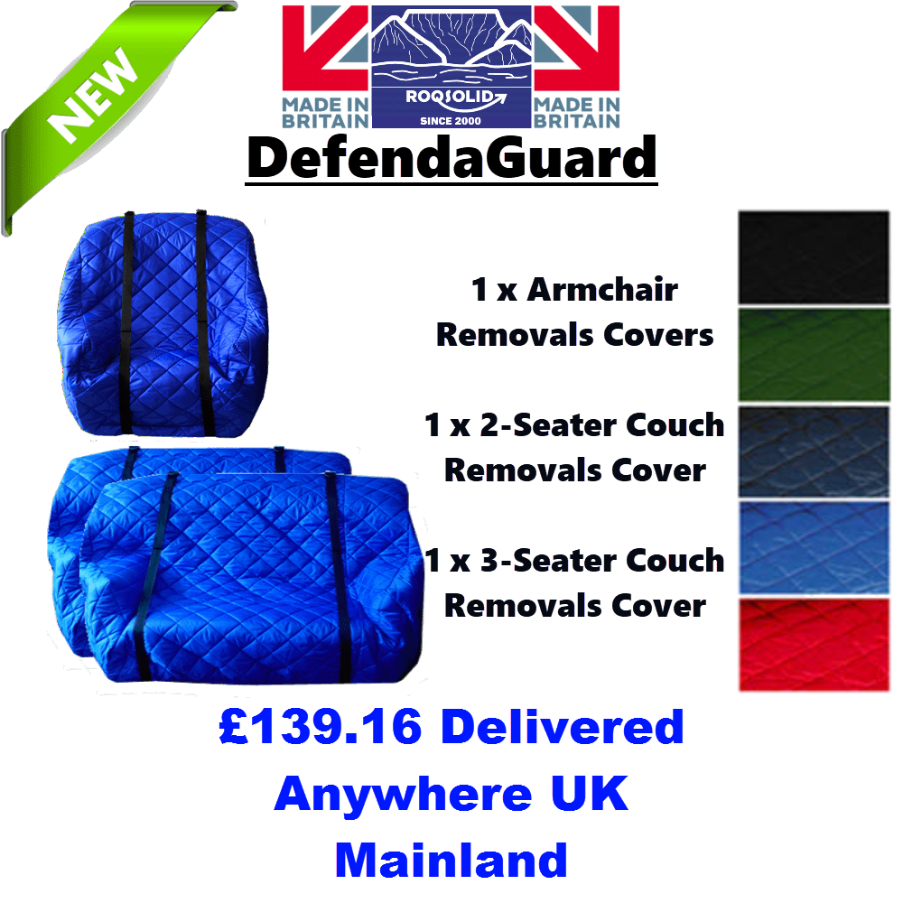 Furniture Removals Kit 1 - DefendaGuard - ROQSOLID