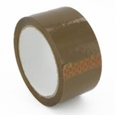 "2"" Brown PP Acrylic Sealing Tape - ROQSOLID"