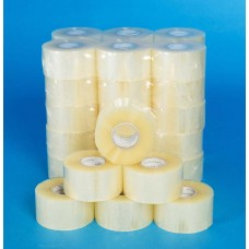 "2"" Clear Acrylic Sealing Tape, 150m Per Roll 36 Per Box - ROQSOLID"
