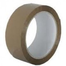"2"" Brown Vinyl (PVC) Sealing Tape, 66m Per Roll 36 Per Box - ROQSOLID"