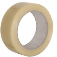 "2"" Clear Vinyl (PVC) Sealing Tape, 66m Per Roll 36 Per Box - ROQSOLID"