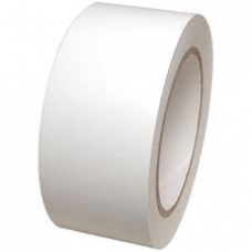 "2"" White Vinyl (PVC) Sealing Tape, 66m Per Roll 36 Per Box - ROQSOLID"
