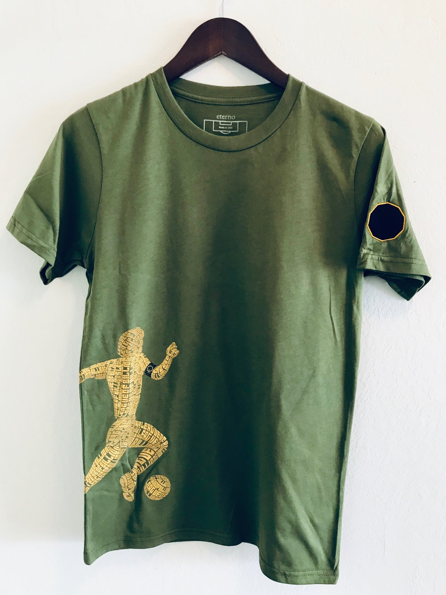 """Off Green"" - Short Sleeve 100% Organic Cotton Unisex T-Shirt"