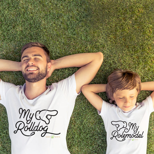 My Rolldog - 2 Shirt Matching Set for Father and Son