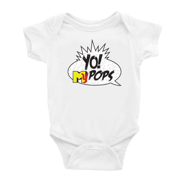 Yo Pops! Single Infant bodysuit