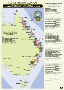 QLD Boating, Fishing, Camtas Marine Safety Guide - GOLD COAST SEAWAY to MANLY / BG514L