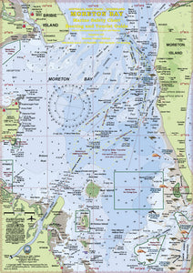 QLD Boating, Fishing, Camtas Marine Safety Guide - MORETON BAY / BG534L