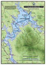 QLD Boating, Fishing, Camtas Marine Safety Guide - LAKE AGOONGA / BG628L