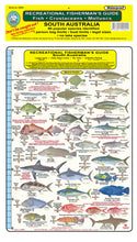 Fishermans Fish Identification Card (Slate) - South Australia / FG021L