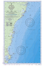 NSW Boating, Fishing, Camtas Marine Safety Chart - JERVIS BAY  to PORT JACKSON / MC380