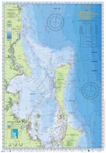 QLD Boating, Fishing, Camtas Marine Safety Chart - CLEVELAND to MOOLOOLABA, Moreton Bay / MC530