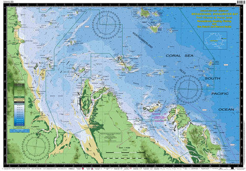 QLD Boating, Fishing, Camtas Marine Safety Chart - PORT CLINTON to PERCY ISLES, Shoalwater & Stanage Bays / MC634