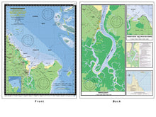 QLD Boating, Fishing, Camtas Marine Safety Chart - CAIRNS, TRINITY BAY and TRINITY INLET / MC710