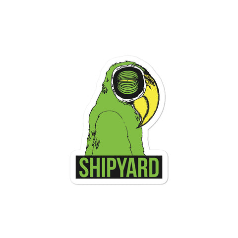 "Shipyard Skates ""DAILY PARROT"" Sticker"