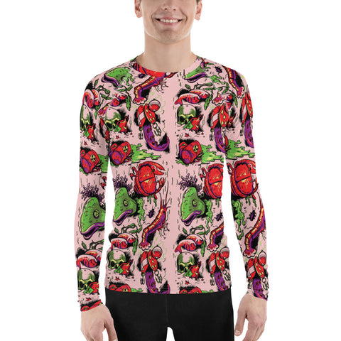 "Shipyard Skates ""LICKABLE WALLPAPER"" All-Over Print Men's Rash Guard"