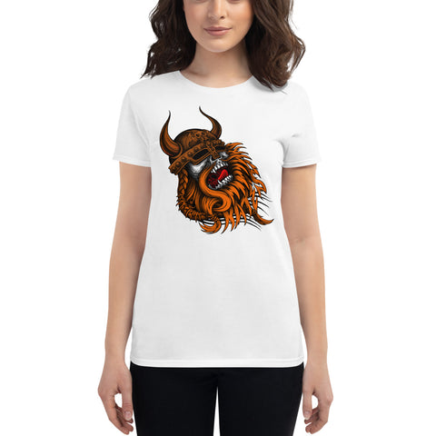 "Shipyard Skates ""RA76 VIKING"" Women's short sleeve t-shirt"