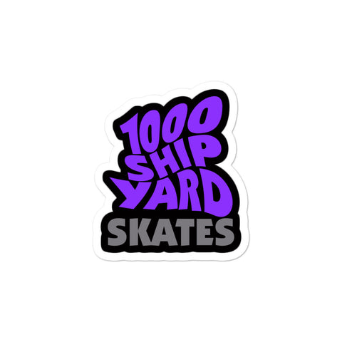 "Shipyard Skates ""SUPERNAUT"" Sticker"
