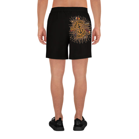 "Shipyard Skates ""DK BLOWOUT"" Men's Athletic Long Shorts"