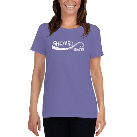 "Shipyard Skates ""TENTACLE"" Women's short sleeve t-shirt"