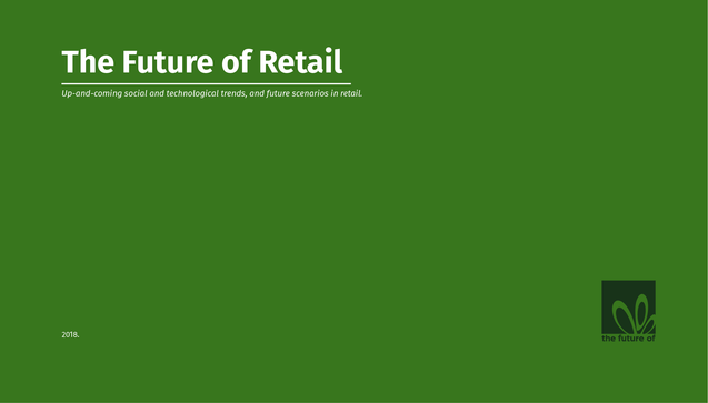 The Future of Retail  report