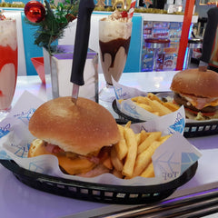 AMERICAN DINER BURGERS BLUE TOPAZ SEVERNLEA IN QLD