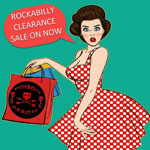 rockabilly sale on now