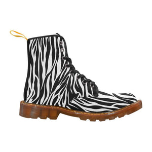 ZEBRA Women's Lace Up Combat Boots