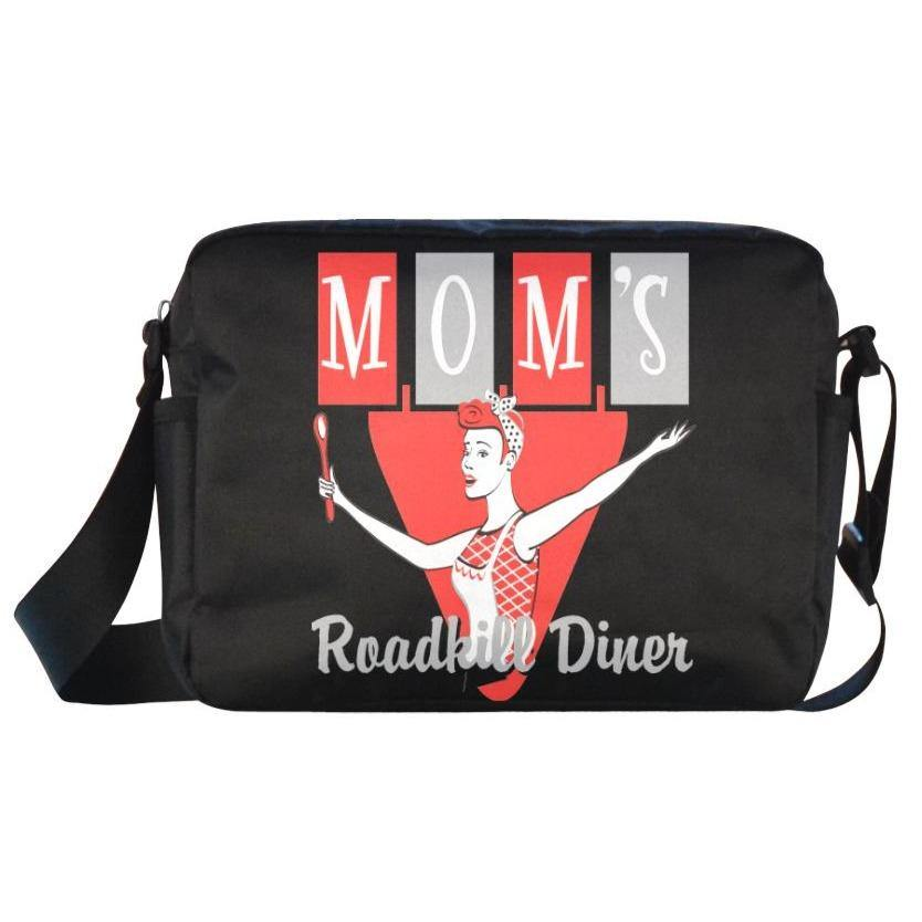 UNISEX Crossbody Nylon Satchel Bag ROADKILL DINER