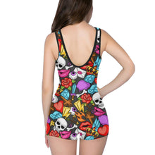 Load image into Gallery viewer, MEMENTOS Women's One Piece Boyleg Swimsuit XS-5XL