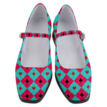 "Load image into Gallery viewer, Alice Women's Mary Jane Shoes 1"" HEEL"