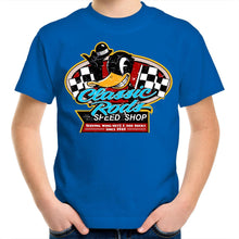 Load image into Gallery viewer, CLASSIC RODS Kids Youth Crew T-Shirt 2-14
