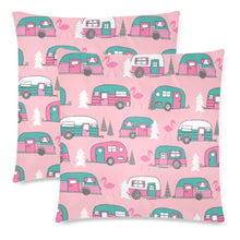 "Load image into Gallery viewer, MINGO VANS Throw Pillow Cover 18""x 18"" (Twin Sides) (Set of 2)"