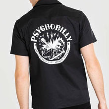 Load image into Gallery viewer, chet rock psychobilly bowling shirt