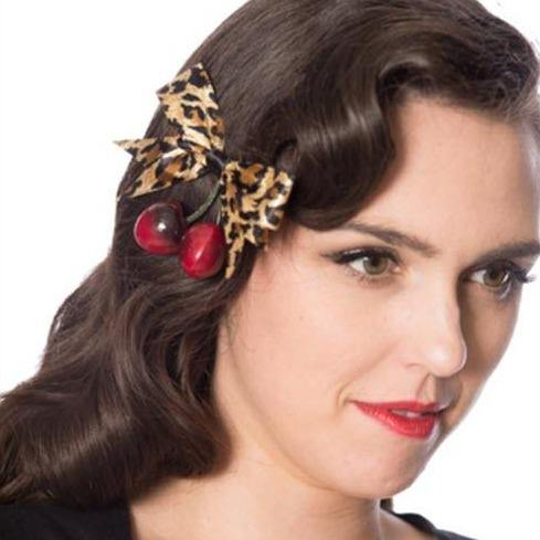 BANNED APPAREL WILD CHERRY HAIRCLIP