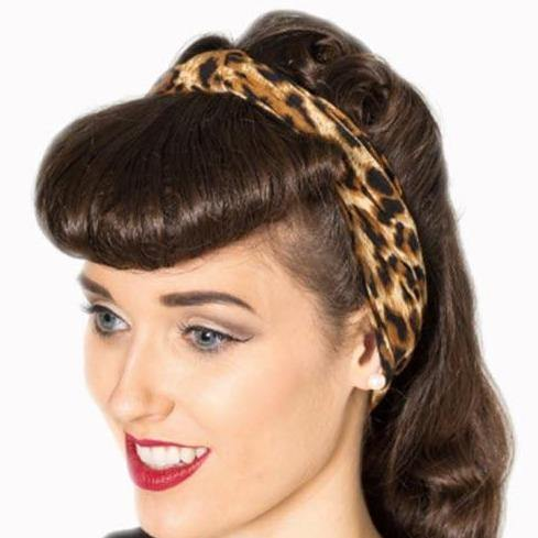BANNED APPAREL LEOPARD HEADBAND