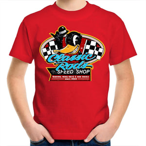 CLASSIC RODS Kids Youth Crew T-Shirt 2-14