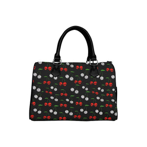 [PRE-ORDER] Cherries Skulls Barrel Type Handbag