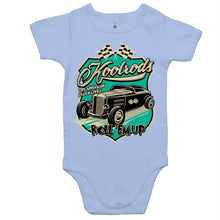 Load image into Gallery viewer, KOOLRODS TURQUOISE - Baby Onesie Romper