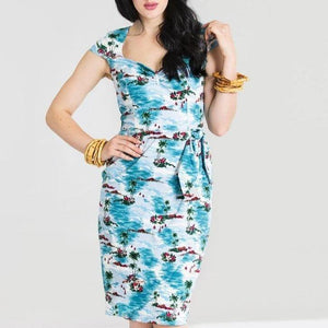 HELL BUNNY NISSI PENCIL DRESS
