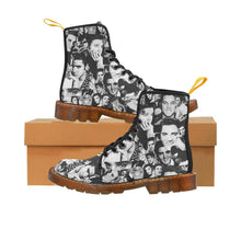 Load image into Gallery viewer, Elvis The King Women's Lace Up Combat Boots