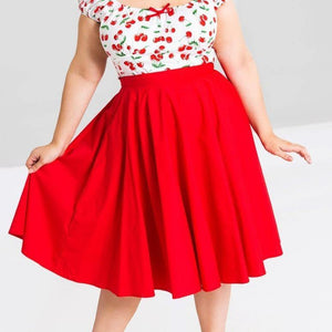 HELL BUNNY PAULA CIRCLE SKIRT | POISON ARROW ROCKABILLY AUSTRALIA