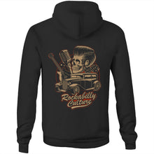 Load image into Gallery viewer, ROCKABILLY CULTURE - UNISEX FLEECY HOODIE
