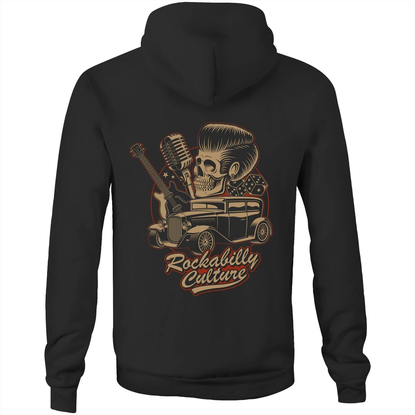 ROCKABILLY CULTURE - UNISEX FLEECY HOODIE
