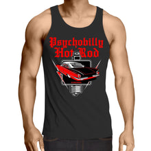 Load image into Gallery viewer, PSYCHOBILLY HOTROD - Mens Singlet Top S-2XL