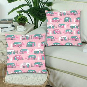 "MINGO VANS Throw Pillow Cover 18""x 18"" (Twin Sides) (Set of 2)"